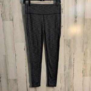 3/$25 Athleta chaturganga leggings gray